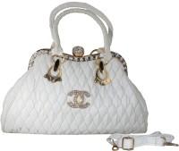 Deox Hand-held Bag(WHITE CREAM)