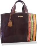 Arpera Hand-held Bag (Brown)