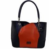Indostyle Hand-held Bag (Blue, Black, Re...