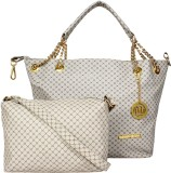 Meow Wings Shoulder Bag (White)