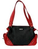 Checkmate Shoulder Bag (Black, Red)