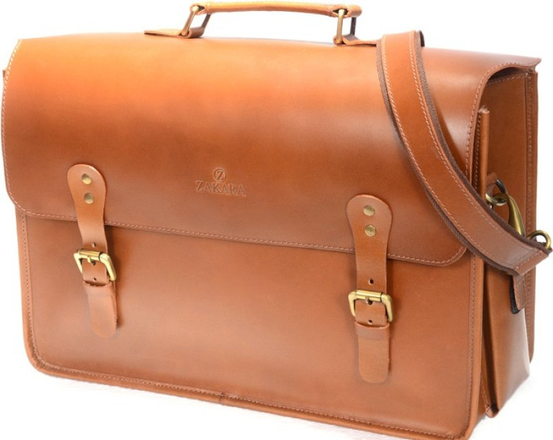 Zakara Messenger Bag(Brown)
