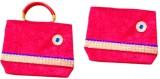 Mahalakshmi Hand-held Bag (Red)