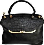 BK Black Hand-held Bag (Black)