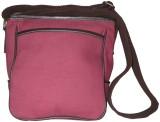 Needlecrest Messenger Bag (Maroon)