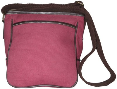 Needlecrest Messenger Bag(Burgandy)
