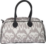 Rajrang Hand-held Bag (White, Grey, Blac...