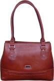 Syedna Hand-held Bag (Brown)