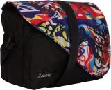 Zwart Messenger Bag (Multicolor)