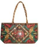 Haveli Arts Hand-held Bag (Brown)