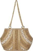 Saashiwear Hand-held Bag(Golden)