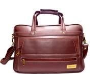Sophia Visconti Messenger Bag(Maroon)