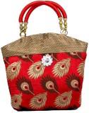 Kuber Industries Hand-held Bag (Red)