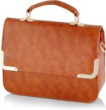 Kelvin Straw Messenger Bag (Brown)