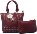 Fashion Knockout Shoulder Bag (Maroon)