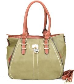 Jolie Messenger Bag(Green, Brown)