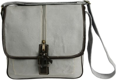 Needlecrest Messenger Bag(Grey)
