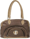 Coash Shoulder Bag (Brown, Beige)