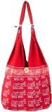 Khatri Handicrafts Messenger Bag (Red)