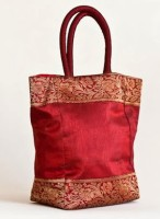 Indha Craft Hand-held Bag(Red)