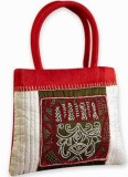 Indha Craft Hand-held Bag (Red)