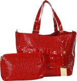 Abrazo Hand-held Bag (Red)