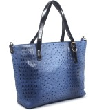 Hobo Shoulder Bag (Blue)