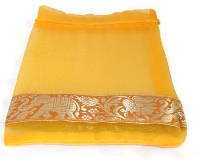 Kriti Creations Pouch Potli(Yellow)