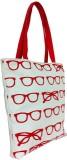 Carry on Bags Shoulder Bag (Beige, Red)