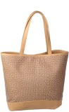Uni Carress Hand-held Bag (Beige)
