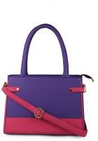 CLASSICFASHION Hand-held Bag(PINK & PURPLE)