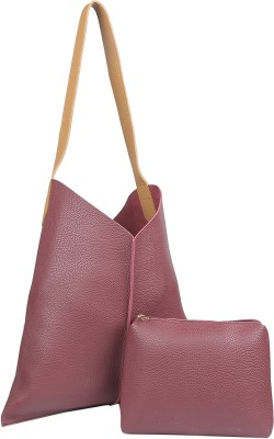 Legal Bribe Tote(Maroon) at flipkart