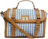 Covo Shoulder Bag (Blue, Brown)