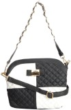 Home Union Women Casual Black PU Sling B...