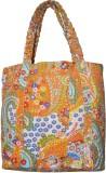 Lal Haveli Hand-held Bag (Orange)