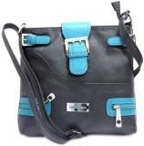 Richborn Shoulder Bag (Black, Blue)