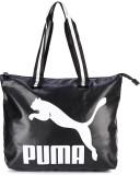 Puma Tote (White, Black)