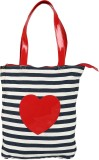 Berrypeckers Hand-held Bag (Blue, Red)