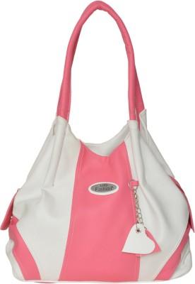 FD Fashion Shoulder Bag(white & pink)