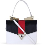 Zaera Shoulder Bag (White)