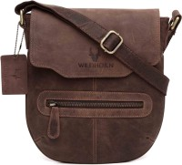 WildHorn Messenger Bag(Brown)