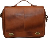 C Comfort Messenger Bag (Tan)