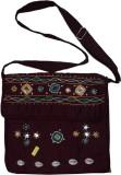 Muren Messenger Bag (Maroon)