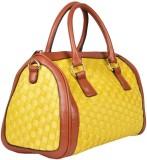 Yellow Tree Hand-held Bag (Yellow)