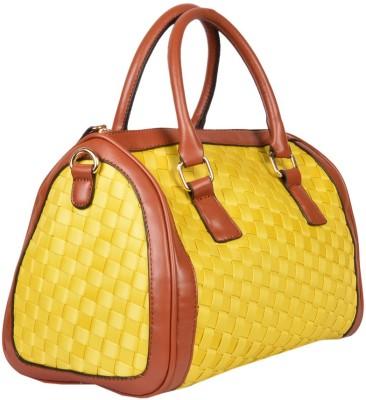 Yellow Tree Hand-held Bag