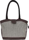 Benicia Shoulder Bag (Brown, Beige)