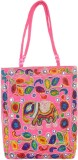 Kwickdeal Tote (Pink, Multicolor)