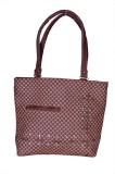 Asterbell Hand-held Bag (Maroon)