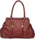Barsha Hand-held Bag (Maroon)