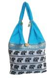 Metro Living Shoulder Bag (Blue)